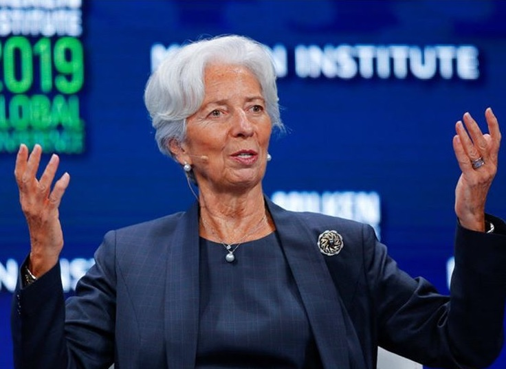 "Christine Lagarde: ""Global Growth Fragile and  Threatened"""
