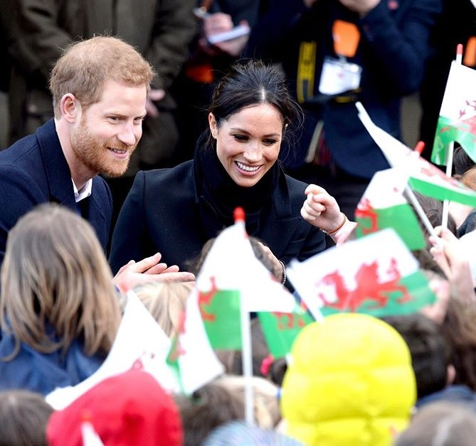 Harry and Meghan Markle Officially Start their Archwell Foundation