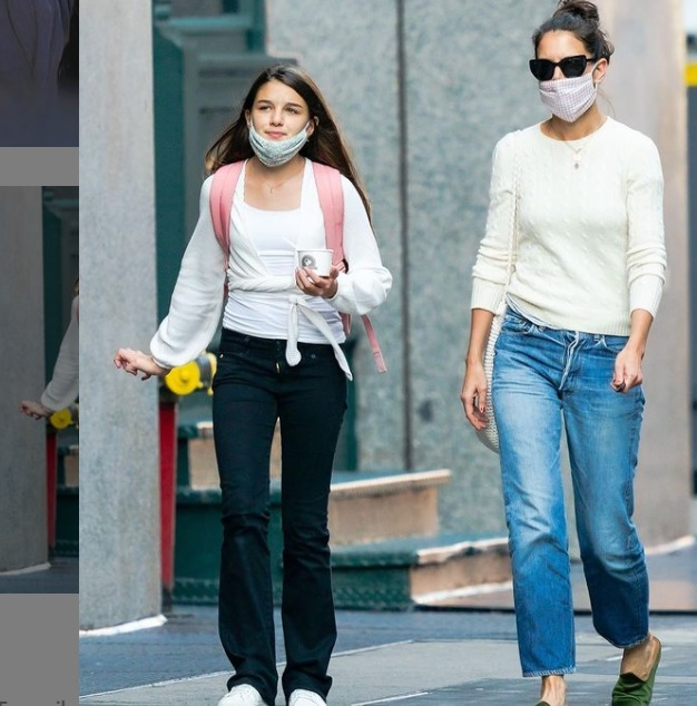 Suri Cruise Turns 15 her Mother Katie Holmes has Posted to Celebrate