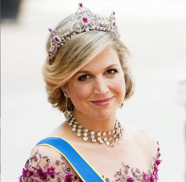 Queen Maxima the 'Wasteful' Queen Also Recycles Cheap Dresses