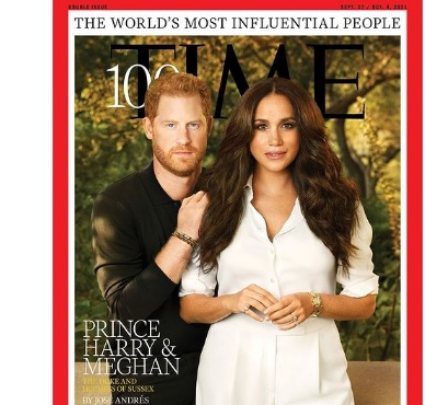 Prince Harry and Meghan Among Time's 100 Most Influential