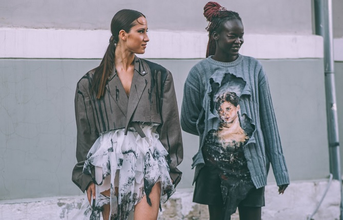 Unwanted Clothes Collected at Mercedes-Benz Fashion Week Russia